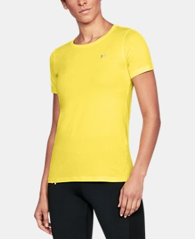 Best Seller Women's UA HeatGear® Armour Short Sleeve LIMITED TIME: FREE U.S. SHIPPING 1  Color Available $27.99