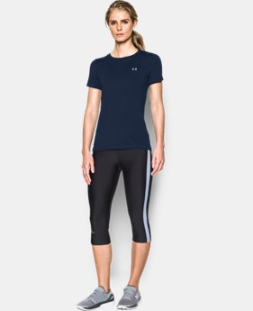 Women's UA HeatGear® Armour Short Sleeve   5 Colors $32.99