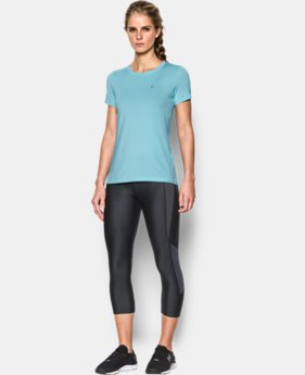 Women's UA HeatGear® Armour Short Sleeve  LIMITED TIME: FREE U.S. SHIPPING 2 Colors $20.99 to $27.99