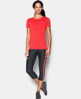 Women's UA HeatGear® Armour Short Sleeve   1 Color $32.99