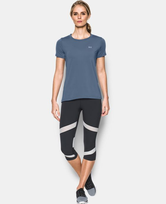 Women's UA HeatGear® Armour Short Sleeve  LIMITED TIME: FREE U.S. SHIPPING 1 Color $20.99 to $27.99