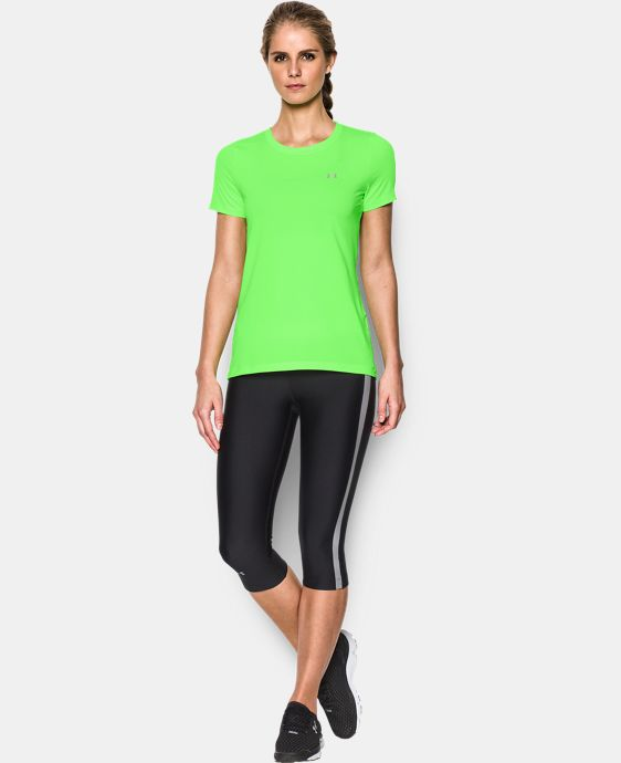 Women's UA HeatGear® Armour Short Sleeve  1 Color $27.99