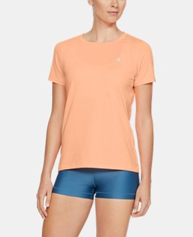 Best Seller Women's UA HeatGear® Armour Short Sleeve FREE U.S. SHIPPING 1  Color Available $27.99
