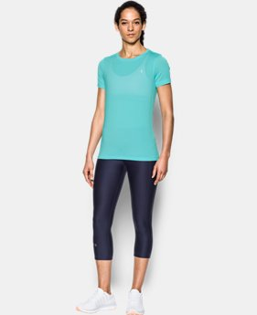 Best Seller Women's UA HeatGear® Armour Short Sleeve  3 Colors $27.99