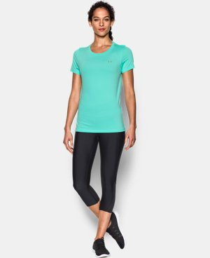 Women's UA HeatGear® Armour Short Sleeve  LIMITED TIME: FREE U.S. SHIPPING 1 Color $27.99