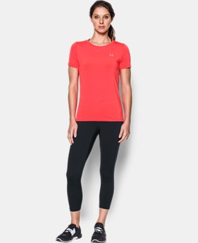 Women's UA HeatGear® Armour Short Sleeve  2 Colors $20.99