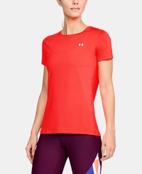 Best Seller Women's UA HeatGear® Armour Short Sleeve  1  Color Available $27.99