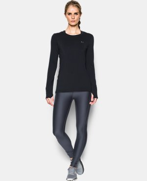 Women's UA HeatGear® Armour Long Sleeve  LIMITED TIME: FREE U.S. SHIPPING 9 Colors $24.99 to $32.99