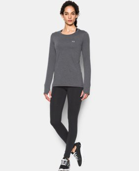 Women's UA HeatGear® Armour Long Sleeve  1 Color $28.49