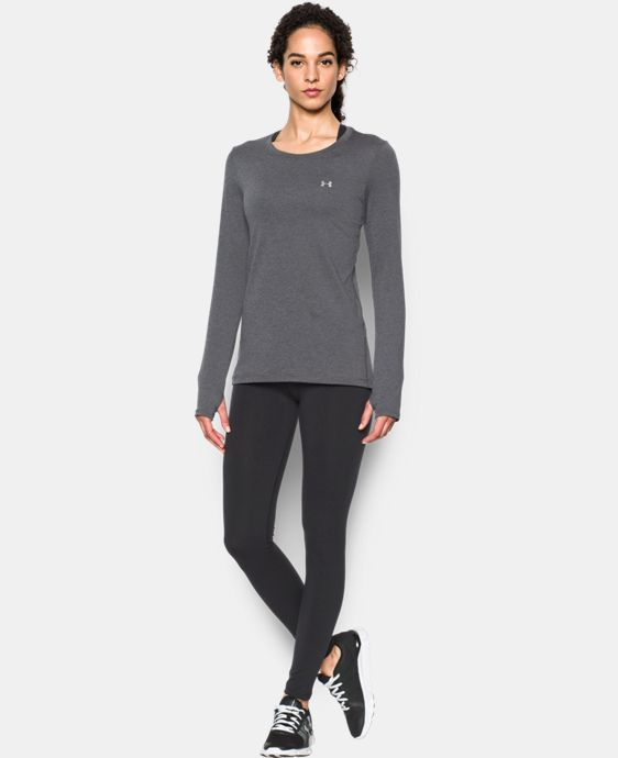 Women's UA HeatGear® Armour Long Sleeve  LIMITED TIME: FREE U.S. SHIPPING 3 Colors $32.99