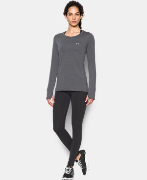 New Arrival  Women's UA HeatGear® Armour Long Sleeve  LIMITED TIME: FREE SHIPPING 1 Color $28.99 to $37.99