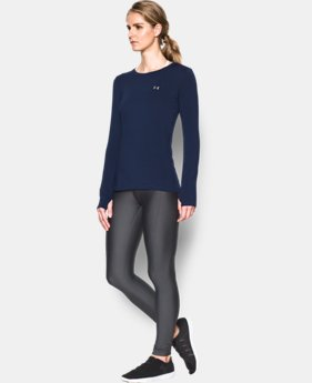 Women's UA HeatGear® Armour Long Sleeve  7 Colors $37.99
