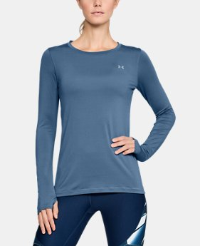 Women's UA HeatGear® Armour Long Sleeve LIMITED TIME: FREE SHIPPING 3  Colors Available $37.99