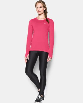 New Arrival  Women's UA HeatGear® Armour Long Sleeve  2 Colors $37.99