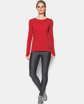 Women's UA HeatGear® Armour Long Sleeve  1 Color $37.99