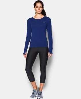 Women's UA HeatGear® Armour Long Sleeve  1 Color $18.74