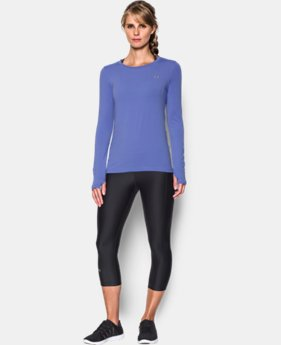 Women's UA HeatGear® Armour Long Sleeve  12 Colors $32.99