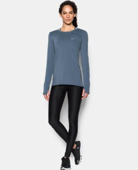 New Arrival Women's UA HeatGear® Armour Long Sleeve  1 Color $32.99