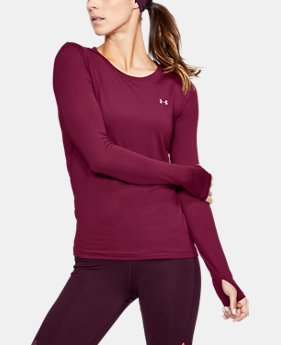Women's UA HeatGear® Armour Long Sleeve  2 Colors $32.99