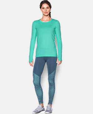 Women's UA HeatGear® Armour Long Sleeve  LIMITED TIME: FREE U.S. SHIPPING  $22.99