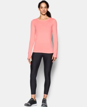 Women's UA HeatGear® Armour Long Sleeve  4 Colors $28.49