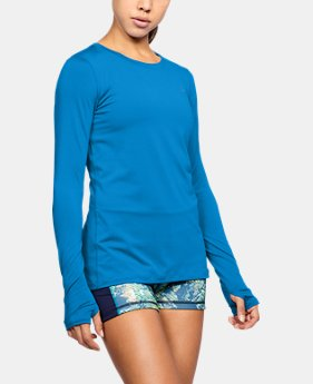Women's UA HeatGear® Armour Long Sleeve  3 Colors $32.99