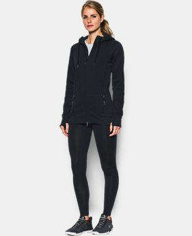 Women's UA Varsity Fleece Full Zip  1 Color $119.99