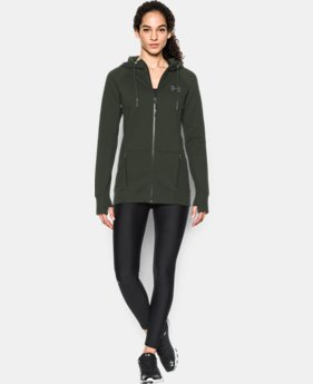 Women's UA Varsity Fleece Full Zip  1 Color $71.99