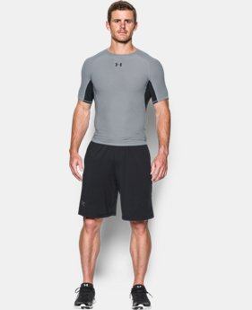 New Arrival  Men's UA HeatGear® Armour Twist Compression Tank  LIMITED TIME: FREE SHIPPING 1 Color $37.99