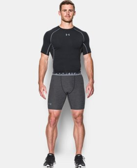 New Arrival  Men's UA HeatGear® Armour Twist Compression Shorts LIMITED TIME: FREE SHIPPING 2 Colors $34.99