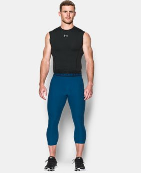 Men's UA HeatGear® Armour Twist ¾ Compression Leggings  1 Color $22.49 to $29.99