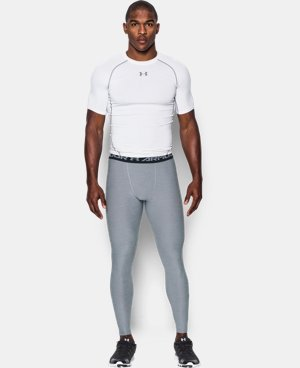 Men's UA HeatGear® Armour Twist Compression Leggings LIMITED TIME: FREE SHIPPING 1 Color $49.99