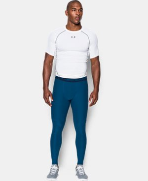 Men's UA HeatGear® Armour Twist Compression Leggings LIMITED TIME: FREE U.S. SHIPPING 1 Color $25.49 to $33.99