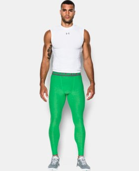 Men's UA HeatGear® Armour Twist Compression Leggings
