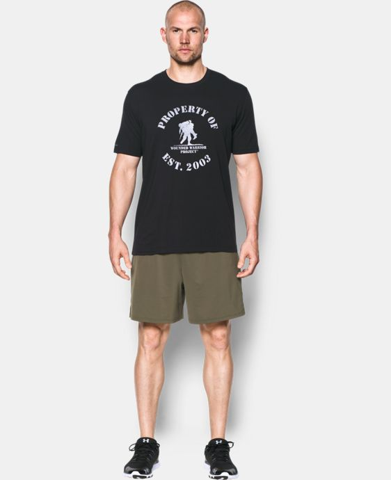 Men's UA Freedom Property of WWP T-Shirt   4 Colors $24.99