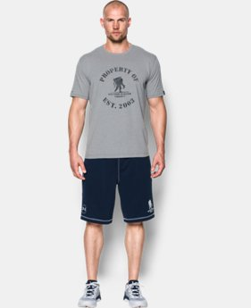 New Arrival Men's UA Freedom Property of WWP T-Shirt  1 Color $24.99