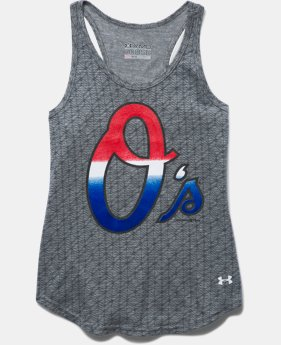 Girls' Baltimore Orioles UA Tri-Blend Tank