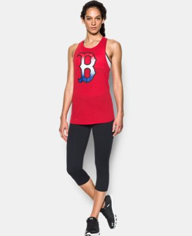 Women's Boston Red Sox Cutout Tank