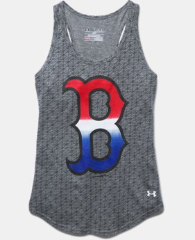 Girls' Boston Red Sox UA Tri-Blend Tank