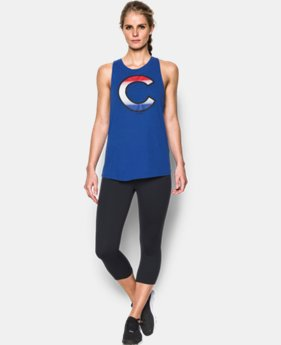 Women's Chicago Cubs Cutout Tank