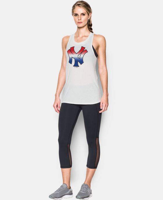 Women's New York Yankees 4th of July Cutout Tank LIMITED TIME: FREE U.S. SHIPPING 1 Color $26.99