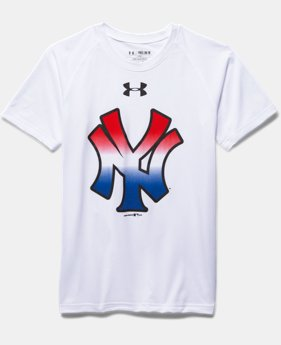 Boys' New York Yankees UA Tech™ T-Shirt