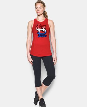 Women's St Louis Cardinals Cutout Tank