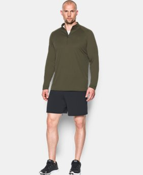 Men's UA Tactical Tech™ ¼ Zip LIMITED TIME: FREE SHIPPING 1 Color $39.99