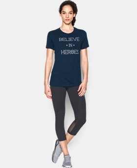 Women's UA Believe In Heroes Short Sleeve T-Shirt  1 Color $29.99