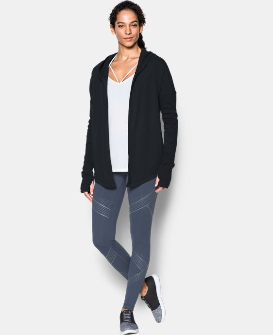 New Arrival  Women's UA Modern Terry Open Front Cardigan LIMITED TIME: FREE SHIPPING 1 Color $114.99