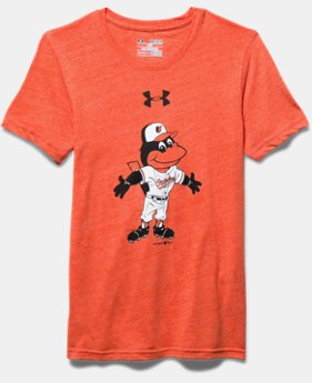 Boys' Baltimore Orioles Vintage Tri-Blend T-Shirt