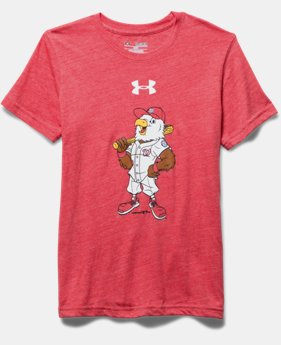 Boys' Washington Nationals Vintage Tri-Blend T-Shirt