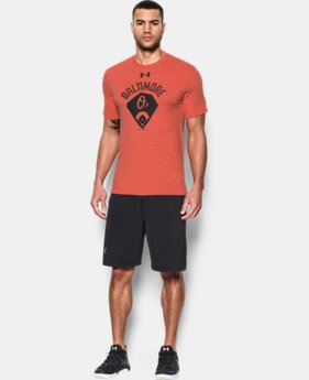 New Arrival Men's Baltimore Orioles Vintage Tri-blend LIMITED TIME: FREE SHIPPING  $34.99