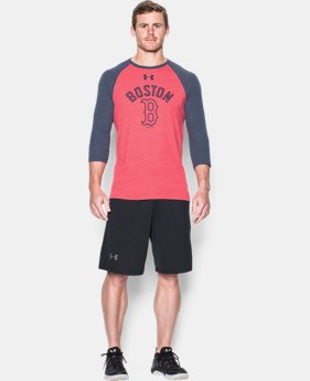 Men's Boston Red Sox Vintage ¾ Sleeve